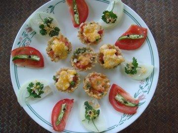Tomato Canapes, Paula Dean, Food Network