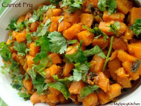 carrot fry