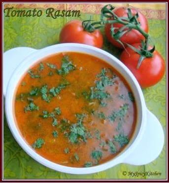 Tomato Rasam, Tomato chaaru
