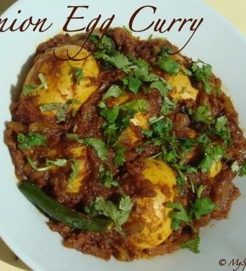 Onion Egg Curry