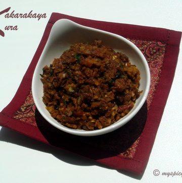 Kakarkaya or Bitter Gourd Kura