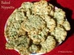 Savory Onion Crackers ~ Baked Nippattu