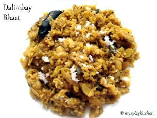 Dalimbay bhaat, Val rice, Chikkudu rice, chikkudu annam