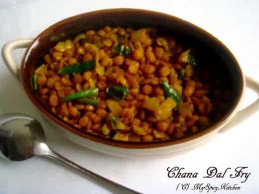 Chana Dal Fry