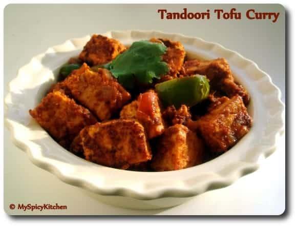 Tandoori Tofu Curry
