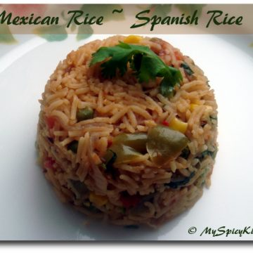 Mexican Rice, Spanish Rice