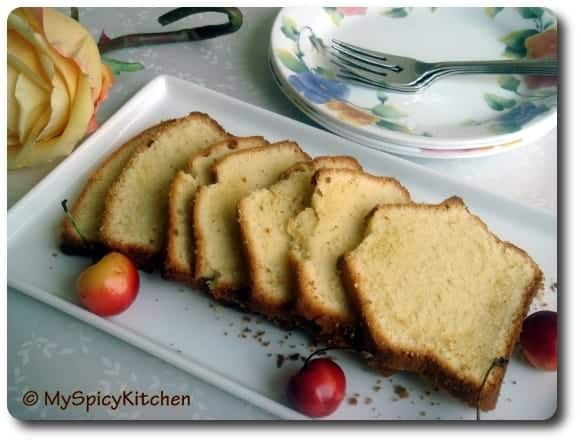 Simple Pound Cake, Sara Lee's Pound Cake