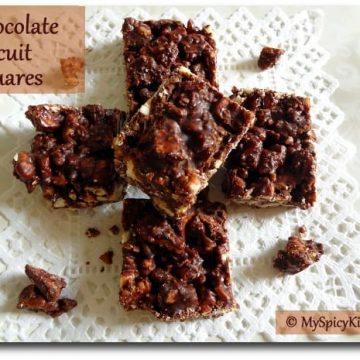 Chocolate Mela, BLogging Marathon, No Bake Chocolate Cake, Chocolate Biscuit Cake, Chocolate Tiffin