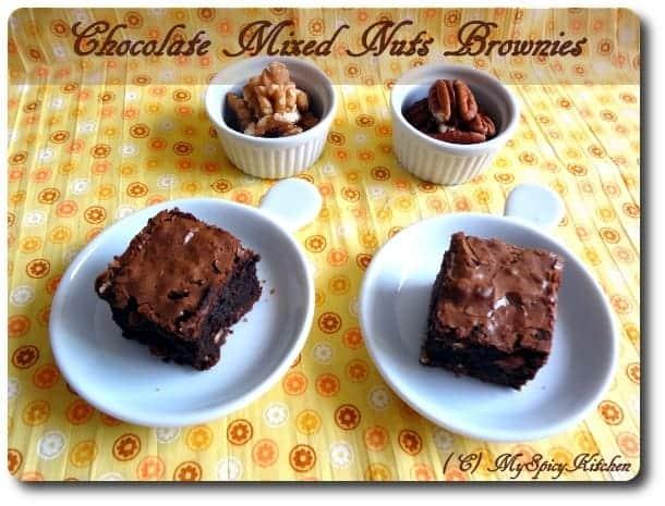 Chocolate Bronies, Chocolate nuts brownies, Chocolate Mela, Joy of ...