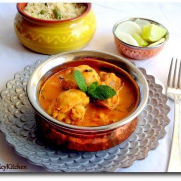 Badami Murgh, Almond Chicken, Almond Chicekn Curry, Chicken Badami, Murgh Badami, Chicken Feast