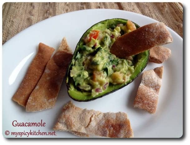 Guacamole, Dip, Avocado Dip, Blogging Marathon, Mexican Dip