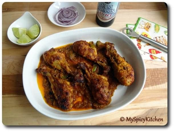 Curried Roasted Chicken