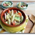 Avocado Pasta Salad, Avocado Salad, Blogging Marathon