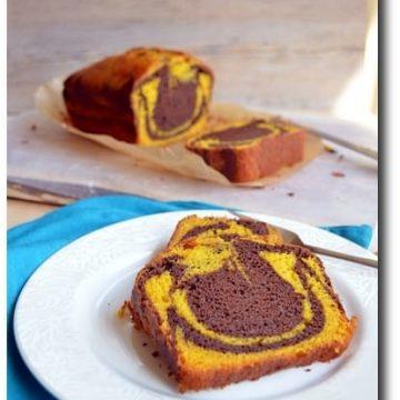 Home bakers challenge, Mango Chocolate Marble Swirl Cake