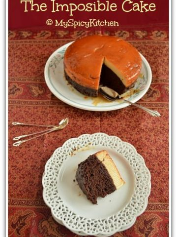Blogging Marathon, Pressure Cooker Recipe, Mexican Flan, Impossible Cake,