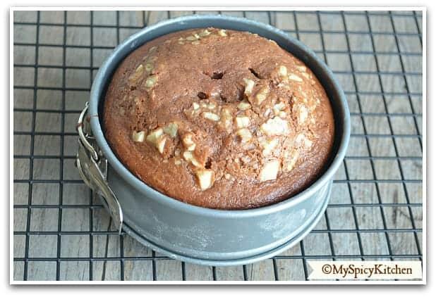 Chocolate Cake Recipe In Pressure Cooker Eggless: Eggless Chocolate Cake In A Pressure Cooker