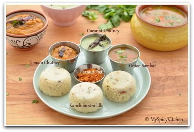 Blogging Marathon, Tamil Cuisine,  Kancheevaram idli, Kanchipuram idly, steamed lentils & rice cake
