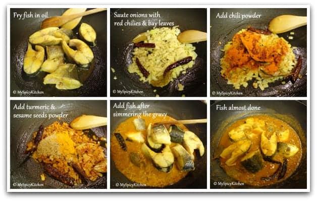 Sesame Fish Collage