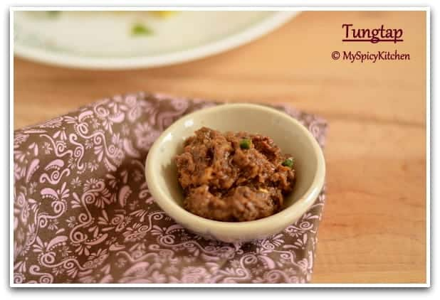 Bowl of tungtap