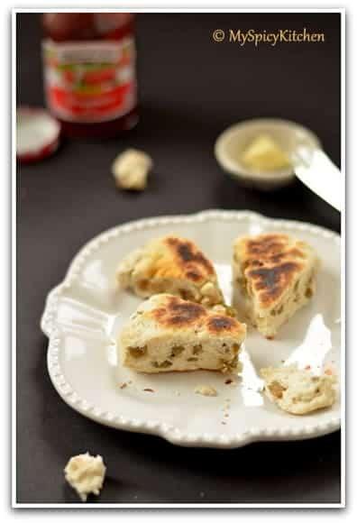 Girdle Scones, Scottish Girdle Scones, Scottish Cuisine, Scottish Breakfast