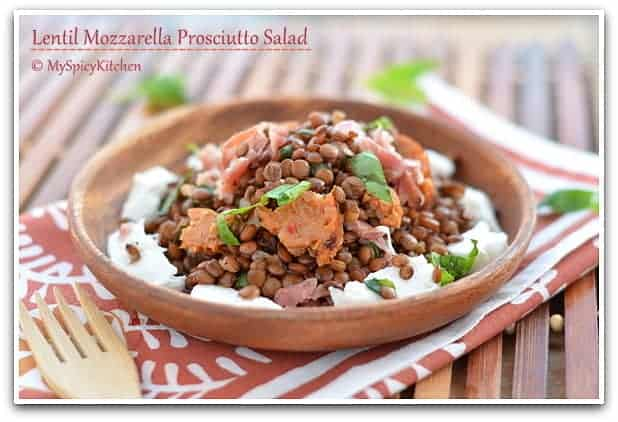 Lentils Salad, Picnic Food