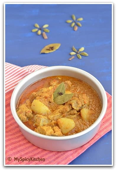 Bangladesi Chicken Curry V