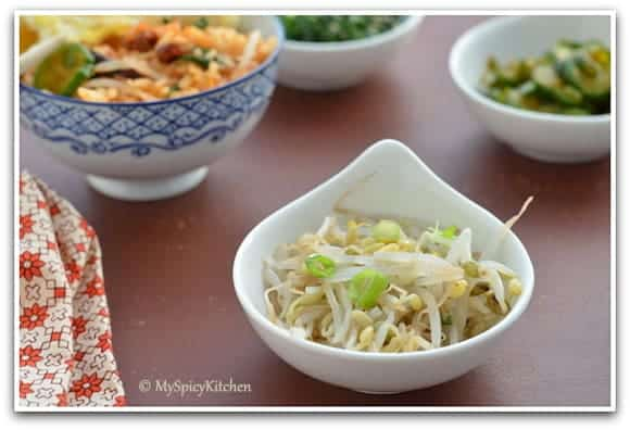 ... , Around the world in 30 days with ABC cooking, Bean sprouts salad