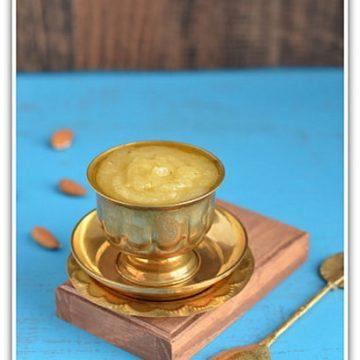 Almond Sweet, Almond Halwa, Indian Cooking Challenge, Indian Sweets