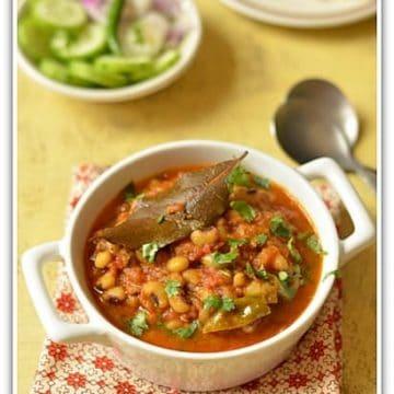 Blackeyed peas curry,