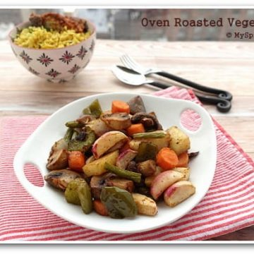 Oven Roasted Vegetables, Bake-a-thon,