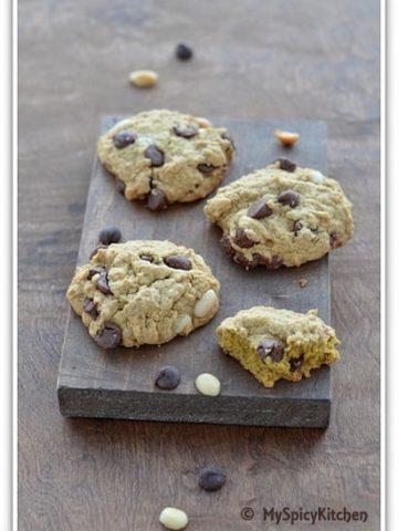 Chocolate Quinoa Coconut Cookies, Bake-a-thon,