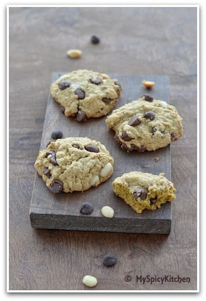 Chocolate Quinoa Coconut Cookies, Bake-a-thon,