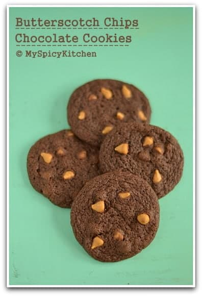 Fie up the oven, Blogging Marathon, Baking Marathon, Cookies, Chocolate Cookies,