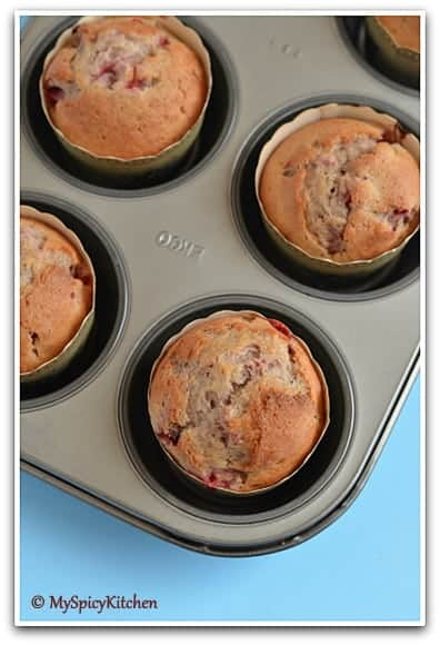 Blogging Marathon, Baking Marathon, FireUpYourOven, Muffins, Berry Muffins,  Fruit Muffins