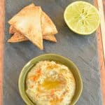 Baba Ganoush with Pita Chips
