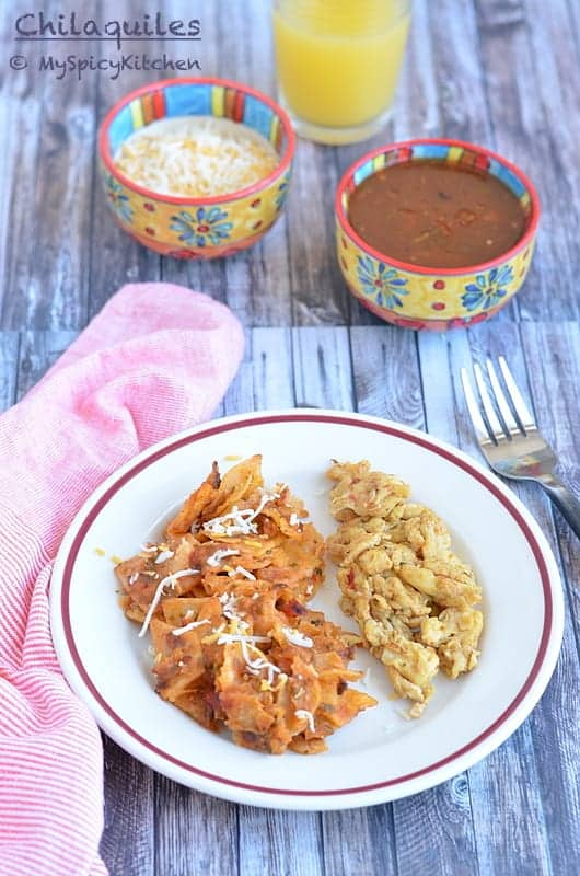 Chilaquiles From Mexico Myspicykitchen