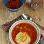 Lablabi ~ Chickpeas Soup from Tunisia