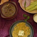 Makki de Roti ~ Maize Flour Flatbread