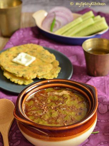 Blogging Marathon, Buffet on Table, Punjabi Cuisine, Punjabi Food, Mustard LEaves curry, Broccoli rabe, Rapini ,