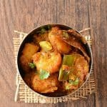 Shrimp Curry ~ Royyala Koora without Tomato