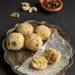 Yendu Kobbari Rava Laddu ~ Dry Coconut Rava Laddu