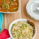 Hyacinth Beans Rice ~ Anapa Ginjala Annam
