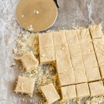 Israeli Halvah, Middle Easter Sweet, Israeli Sweet, Fudge, Tahini Fudge, Food of the World,