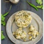 Kudumulu ~ Chikkudu Kudumulu ~ Steamed Rice & Broad Bean Cakes