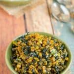 Fenugreek Leaves Moong Dal Curry ~ Menthi Aaku Pesaru Pappu Koora