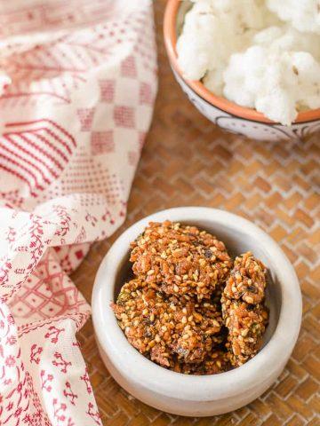 Tomato Vadiyalu, Vadiyalu, Telangana Food, Telangana Cuisine, Telugu Food, Indian Food, South Indian Food, Blogging Marathon, Journey Through the Cuisines, A-Z Challenge, A-Z Telangana Cuisine