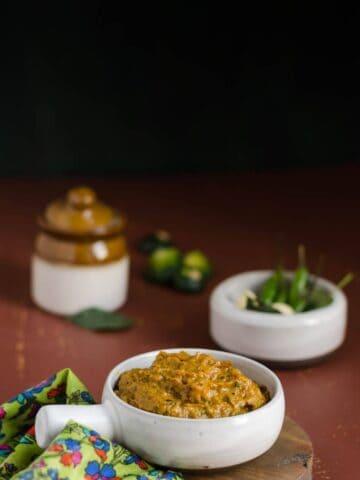 Zucchini Pachadi, South Indian Food, South Indian Cuisine, Telugu Food, Telangana Food, Telangana Cuisine, Zucchini, Pachadi, Journey Through the Cuisines,