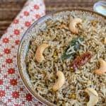 Black Gram Rice ~ Urad Dal Rice ~ Ulundu Sadam
