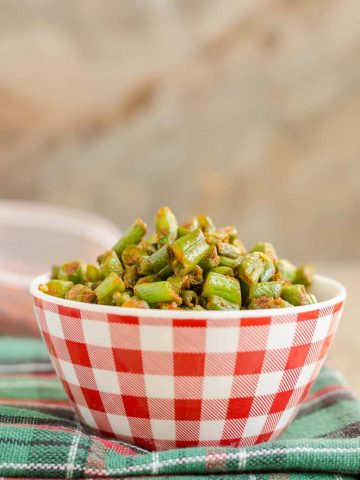 Sauteed Green Beans with Kolhapuri Masala, Green beans stir fry, Sauteed Green Beans, 3 Ingredients Recipes, Green Beans, Beans Koora,