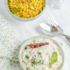 Daddojanam, Yogurt Rice, Blogging Marathon, Cooking Carnival, Protein Rich Food, Cooking With Protein Rich Ingredients, CookingWithYogurt, Yogurt Recipe, Curd Recipes, CookingWithCurds, Curd Rice,